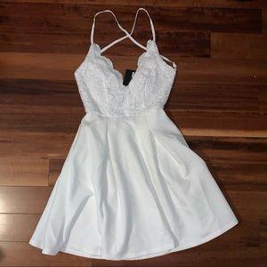 White Fashion Nova Dress